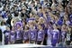 Sep 7, 2013; Evanston, IL, USA; Northwestern Wildcats fans during the first quarter in a game against the Syracuse Orange at Ryan Field. Mandatory Credit: David Banks-USA TODAY Sports