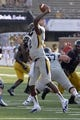 Sep 7, 2013; Columbia, MO, USA;  Toledo Rockets quarterback Terrance Owens (2) attempts a pass during the second half against the Missouri Tigers. Missouri defeats Toledo 38-23 at Faurot Field . Mandatory Credit: Jasen Vinlove-USA TODAY Sports
