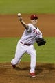 Sep 7, 2013; Philadelphia, PA, USA; Philadelphia Phillies pitcher Jonathan Papelbon (58) delivers to the plate during the ninth inning against the Atlanta Braves at Citizens Bank Park. The Phillies defeated the Braves 6-5. Mandatory Credit: Howard Smith-USA TODAY Sports
