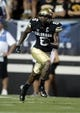 Sep 7, 2013; Boulder, CO, USA; Colorado Buffaloes wide receiver Paul Richardson (6) runs a route against the Central Arkansas Bears at Folsom Field. The Buffaloes defeated the Bears 38-24. Mandatory Credit: Ron Chenoy-USA TODAY Sports