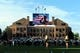 Sep 7, 2013; Boulder, CO, USA; General view of the Dal Ward athletic building before the start of the game against the Central Arkansas Bears at Folsom Field. Mandatory Credit: Ron Chenoy-USA TODAY Sports