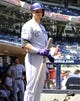 Sep 8, 2013; San Diego, CA, USA; Colorado Rockies shortstop Troy Tulowitzki (2) stands in the dugout in the first inning against the San Diego Padres at Petco Park. Mandatory Credit: Christopher Hanewinckel-USA TODAY Sports