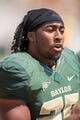 Sep 7, 2013; Waco, TX, USA; Baylor Bears running back Lache Seastrunk (25) before the game against the Buffalo Bulls at Floyd Casey Stadium. The Bears defeated the Bulls 70-13. Mandatory Credit: Jerome Miron-USA TODAY Sports