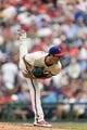 Sep 8, 2013; Philadelphia, PA, USA; Philadelphia Phillies pitcher Cole Hamels (35) delivers to the plate during the sixth inning against the Atlanta Braves at Citizens Bank Park. The Phillies defeated the Braves 3-2. Mandatory Credit: Howard Smith-USA TODAY Sports