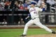 Sep 10, 2013; New York, NY, USA; New York Mets relief pitcher Tim Byrdak (40) throws a pitch during the ninth inning against the Washington Nationals at Citi Field. Mandatory Credit: Joe Camporeale-USA TODAY Sports