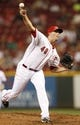 Sep 10, 2013; Cincinnati, OH, USA; Cincinnati Reds starting pitcher Greg Reynolds (40) pitches during the second inning against the Chicago Cubs at Great American Ball Park. Mandatory Credit: Frank Victores-USA TODAY Sports