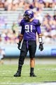 Sep 7, 2013; Fort Worth, TX, USA; TCU Horned Frogs defensive end Matt Anderson (91)  during the game against the Southeastern Louisiana Lions at Amon G. Carter Stadium. Mandatory Credit: Kevin Jairaj-USA TODAY Sports