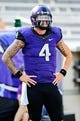 Sep 7, 2013; Fort Worth, TX, USA; TCU Horned Frogs quarterback Casey Pachall (4) before the game against the Southeastern Louisiana Lions at Amon G. Carter Stadium. Mandatory Credit: Kevin Jairaj-USA TODAY Sports