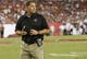 Aug 29, 2013; Tampa, FL, USA; Tampa Bay Buccaneers head coach Greg Schiano during the first half against the Washington Redskins at Raymond James Stadium. Mandatory Credit: Kim Klement-USA TODAY Sports