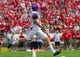 Sep 7, 2013; Madison, WI, USA; Tennessee Tech Golden Eagles punter Chad Zinchini (92) during the game against the Wisconsin Badgers at Camp Randall Stadium.  Wisconsin won 48-0.  Mandatory Credit: Jeff Hanisch-USA TODAY Sports