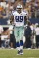 Sep 8, 2013; Arlington, TX, USA; Dallas Cowboys defensive end George Selvie (99) on the field during the game against the New York Giants  at AT&T Stadium. The Dallas Cowboys beat the New York Giants 36-31. Mandatory Credit: Tim Heitman-USA TODAY Sports