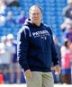 Sep 8, 2013; Orchard Park, NY, USA; New England Patriots head coach Bill Belichick before the game against the Buffalo Bills at Ralph Wilson Stadium. Patriots beat the Bills 23-21. Mandatory Credit: Kevin Hoffman-USA TODAY Sports