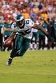 Sep 9, 2013; Landover, MD, USA; Philadelphia Eagles running back LeSean McCoy (25) carries the ball against the Washington Redskins at FedEx Field. Mandatory Credit: Geoff Burke-USA TODAY Sports