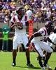 Sep 14, 2013; Greenville, NC, USA; Virginia Tech Hokies quarterback Logan Thomas (3) looks to pass during the first half against the East Carolina Pirates at Dowdy-Ficklen Stadium. Mandatory Credit: Rob Kinnan-USA TODAY Sports