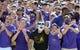 Sep 14, 2013; Greenville, NC, USA; East Carolina Pirates fans celebrate a first half touchdown against the Virginia Tech Hokies at Dowdy-Ficklen Stadium. Mandatory Credit: Rob Kinnan-USA TODAY Sports