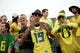 Sep 14, 2013; Eugene, OR, USA; Oregon Ducks fans before the game against the Tennessee Volunteers at Autzen Stadium. Mandatory Credit: Scott Olmos-USA TODAY Sports