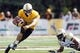 Sep 14, 2013; Laramie, WY, USA; Wyoming Cowboys wide receiver Dominic Rufran (33) runs against the Northern Colorado Bears during the second quarter at War Memorial Stadium. Mandatory Credit: Troy Babbitt-USA TODAY Sports