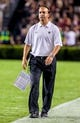Sep 14, 2013; Columbia, SC, USA; Vanderbilt Commodores head coach James Franklin directs his team against the South Carolina Gamecocks in the second half at Williams-Brice Stadium. Mandatory Credit: Jeff Blake-USA TODAY Sports