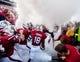 Sep 14, 2013; Columbia, SC, USA; South Carolina Gamecocks rush onto the field before their game against the Vanderbilt Commodores at Williams-Brice Stadium. Mandatory Credit: Jeff Blake-USA TODAY Sports
