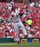 Sep 15, 2013; St. Louis, MO, USA; St. Louis Cardinals third baseman David Freese (23) throws out a Seattle Mariners base runner at Busch Stadium. Mandatory Credit: Scott Rovak-USA TODAY Sports