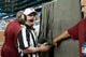 Sep 8, 2013; Detroit, MI, USA;  NFL referee John Parry (132) reviews a play during the game between the Detroit Lions and the Minnesota Vikings at Ford Field. Mandatory Credit: Tim Fuller-USA TODAY Sports