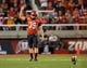 Sep 14, 2013; Salt Lake City, UT, USA; Utah Utes kicker Andy Phillips (39) prepares for a kickoff during the first half against the Oregon State Beavers at Rice-Eccles Stadium. Oregon State won 51-48 in overtime. Mandatory Credit: Russ Isabella-USA TODAY Sports