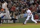 Sep 17, 2013; Boston, MA, USA; Boston Red Sox second baseman Dustin Pedroia (15) looks to make a throw to second base during the second inning against the Baltimore Orioles at Fenway Park. Mandatory Credit: Bob DeChiara-USA TODAY Sports