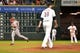 Sep 17, 2013; Houston, TX, USA; Cincinnati Reds right fielder Jay Bruce (32) circles the bases after hitting a grand slam off of Houston Astros starting pitcher Jordan Lyles (18) during the fourth inning at Minute Maid Park. Mandatory Credit: Thomas Campbell-USA TODAY Sports