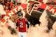 Sep 15, 2013; Atlanta, GA, USA; Atlanta Falcons quarterback Matt Ryan (2) runs out on the field before the game against the St. Louis Rams at the Georgia Dome. The Falcons won 31-24. Mandatory Credit: Daniel Shirey-USA TODAY Sports