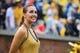 Sep 21, 2013; Atlanta, GA, USA; A Georgia Tech Yellow Jackets cheerleader looks at the scoreboard in the second half against the North Carolina Tar Heels at Bobby Dodd Stadium. Georgia Tech won 28-20. Mandatory Credit: Daniel Shirey-USA TODAY Sports