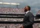 Sep 22, 2013; Baltimore, MD, USA; Former Baltimore Ravens linebacker Ray Lewis looks on during the game against the Houston Texans at M&T Bank Stadium. Mandatory Credit: Evan Habeeb-USA TODAY Sports