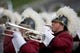 Sep 21, 2013; Mount Pleasant, MI, USA; Central Michigan Chippewas band member performs before the game against the Toledo Rockets at Kelly/Shorts Stadium. Rockets beat the Chippewas 38-17. Mandatory Credit: Raj Mehta-USA TODAY Sports