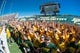Sep 21, 2013; Waco, TX, USA; The Baylor students prepare to run on to the field before the game between the Baylor Bears and the Louisiana Monroe Warhawks at Floyd Casey Stadium. The Bears defeated the Warhawks 70-7. Mandatory Credit: Jerome Miron-USA TODAY Sports