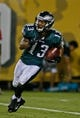 Aug 24, 2013; Jacksonville, FL, USA; Philadelphia Eagles wide receiver Damaris Johnson (13) during the second quarter of their game against the Jacksonville Jaguars at EverBank Field The Philadelphia Eagles beat the Jacksonville Jaguars 31-24. Mandatory Credit: Phil Sears-USA TODAY Sports