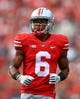 Sep 21, 2013; Columbus, OH, USA; Ohio State Buckeyes wide receiver Evan Spencer (6) against Florida A&M Rattlers at Ohio Stadium. Mandatory Credit: Andrew Weber-USA TODAY Sports