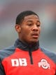 Sep 21, 2013; Columbus, OH, USA; Ohio State Buckeyes defensive back Vonn Bell (11) against Florida A&M Rattlers at Ohio Stadium. Mandatory Credit: Andrew Weber-USA TODAY Sports