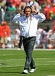 Sep 21, 2013; Columbus, OH, USA; Ohio State Buckeyes coach Urban Meyer during the second quarter against the Florida A&M Rattlers at Ohio Stadium. Mandatory Credit: Andrew Weber-USA TODAY Sports