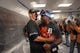 Sep 25, 2013; Minneapolis, MN, USA; Detroit Tigers right fielder Torii Hunter (48) hugs a teammate during the post game celebration of winning the American League Central Division Championship at Target Field. The Tigers won 1-0. Mandatory Credit: Jesse Johnson-USA TODAY Sports