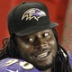 Aug 8, 2013; Tampa, FL, USA; Baltimore Ravens defensive end Pernell McPhee (90) against the Tampa Bay Buccaneers during the second half at Raymond James Stadium. Mandatory Credit: Kim Klement-USA TODAY Sports