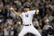 Sep 26, 2013; Bronx, NY, USA; New York Yankees relief pitcher Mariano Rivera (42) pitches against the Tampa Bay Rays during the eighth inning of a game at Yankee Stadium. Mandatory Credit: Brad Penner-USA TODAY Sports
