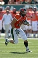 Sep 28, 2013; Fort Collins, CO, USA; Colorado State Rams tight end Crockett Gillmore (10) runs after a reception against the UTEP Miners in the first quarter at Hughes Stadium. Mandatory Credit: Ron Chenoy-USA TODAY Sports