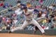 Sep 28, 2013; Minneapolis, MN, USA; Cleveland Indians pitcher Joe Smith (38) delivers a pitch in the ninth inning against the Minnesota Twins at Target Field. Mandatory Credit: Brad Rempel-USA TODAY SportsThe Cleveland Indians won 5-1.