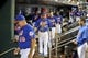 Sep 28, 2013; New York, NY, USA; New York Mets players leave the dugout after losing to the Milwaukee Brewers at Citi Field. The Brewers won the game 4-2. Mandatory Credit- Joe Camporeale-USA TODAY Sports