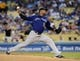 Sep 28, 2013; Los Angeles, CA, USA;   Colorado Rockies starting pitcher Juan Nicasio (12) in the second inning of the game against the Los Angeles Dodgers at Dodger Stadium. Mandatory Credit: Jayne Kamin-Oncea-USA TODAY Sports