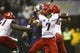 Sep 28, 2013; Seattle, WA, USA; Arizona Wildcats quarterback B.J. Denker (7) passes against the Washington Huskies during the fourth quarter at Husky Stadium. Mandatory Credit: Joe Nicholson-USA TODAY Sports