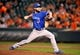 Sep 25, 2013; Baltimore, MD, USA; Toronto Blue Jays starting pitcher Kyle Drabek (4) throws in the sixth inning against the Baltimore Orioles at Oriole Park at Camden Yards. The Orioles defeated the Blue Jays 9-5. Mandatory Credit: Joy R. Absalon-USA TODAY Sports