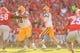 Sep 28, 2013; Athens, GA, USA; LSU Tigers quarterback Zach Mettenberger (8) drops back to pass in the first half against the Georgia Bulldogs at Sanford Stadium. Georgia won 44-41. Mandatory Credit: Daniel Shirey-USA TODAY Sports
