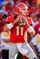 Sep 28, 2013; Athens, GA, USA; Georgia Bulldogs quarterback Aaron Murray (11) drops back to pass in the second half against the LSU Tigers at Sanford Stadium. Georgia won 44-41. Mandatory Credit: Daniel Shirey-USA TODAY Sports
