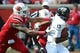 Sep 21, 2013; Louisville, KY, USA; Louisville Cardinals defensive end Marcus Smith (91) sacks FIU Golden Panthers quarterback E.J. Hilliard (13) during the second half of play at Papa John's Cardinal Stadium. Louisville defeated FIU 72-0.  Mandatory Credit: Jamie Rhodes-USA TODAY Sports