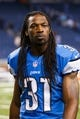 Sep 29, 2013; Detroit, MI, USA; Detroit Lions cornerback Rashean Mathis (31) after the game against the Chicago Bears at Ford Field. Mandatory Credit: Rick Osentoski-USA TODAY Sports